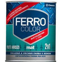 "Краска Chemolak (Хемолак) ""Ferro color"" mat 2,5 л."
