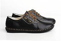 Спортивные женские туфли черного цвета, фото 1