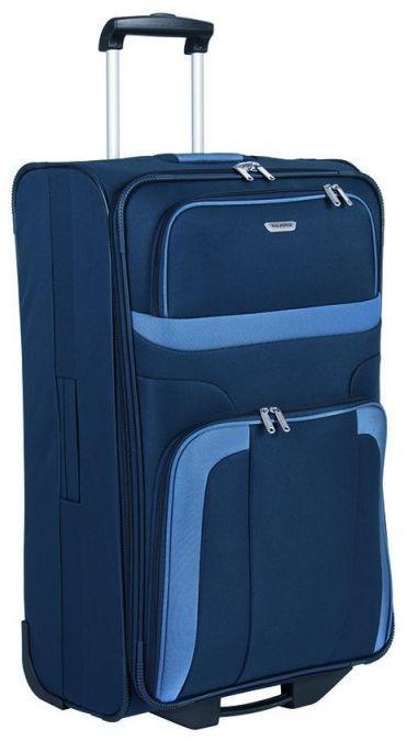 Большой чемодан тканевый Travelite Orlando L TL098489-20, 80 л