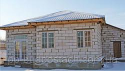 Строительство дома из газобетона газоблока в зимних условиях