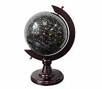 Глобус ночное небо Созвездия из полудрагоценного камня топаз