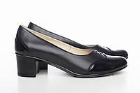 Черные туфли на каблучке, фото 1