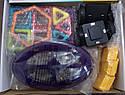 Конструктор магнитный Xinbida 71 деталь аналог Magformers , фото 6