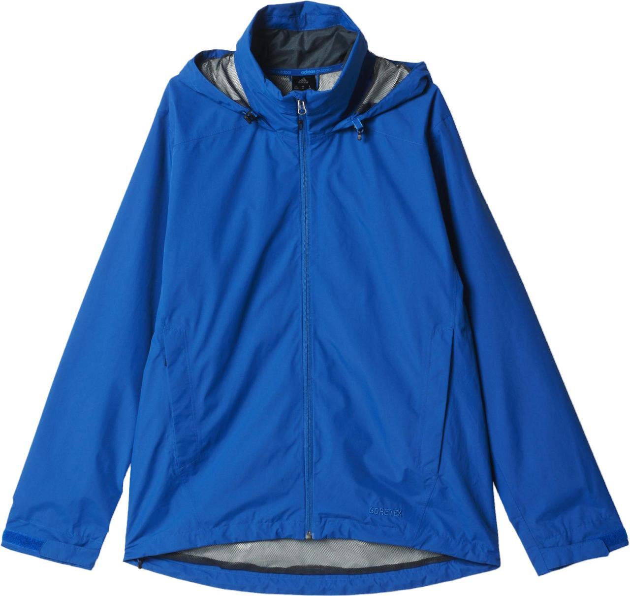 a2d97c13 Ветровка спортивная мужская adidas 2L GTX JKT AO2377 (синяя, непромокаемая,  непродуваемая, с логотипом адидас), цена 2 890 грн., купить Червоноград ...