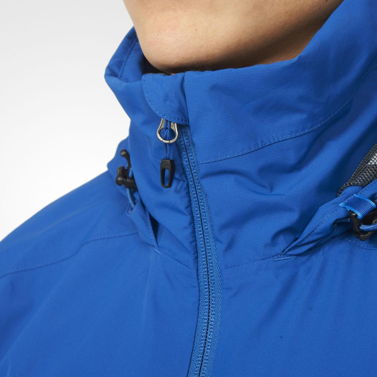 eaf47300 ... с Ветровка спортивная мужская adidas 2L GTX JKT AO2377 (синяя,  непромокаемая, непродуваемая, ...