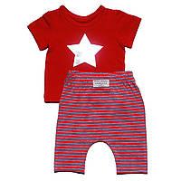 Модный костюм Andriana Kids красный 18,24,36 мес