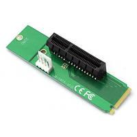 Адаптер NGFF M2 на PCI-E 1X 4X