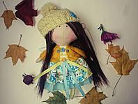 Осенняя фея в желто-голубом, Тильда, фото 1