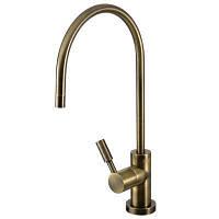 Кран для очищено воды AMETIST бронзовый
