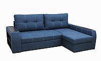Угловой диван Garnitur.plus Барон синий 250 см