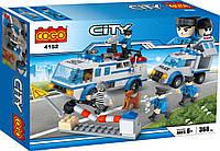 Конструктор Cogo City Полиция 4152