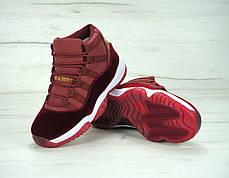 "Женские кроссовки Nike Air Jordan 11 Retro ""Heiress"" Bordo, фото 3"
