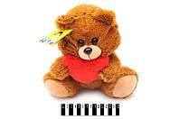 """Мягкая игрушка """"мишка с сердцем"""" в060/1"""