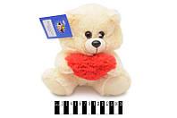 """Мягкая игрушка """"мишка с сердцем"""" в060/0"""