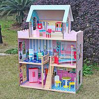 Большой игровой кукольный домик для барби Roza