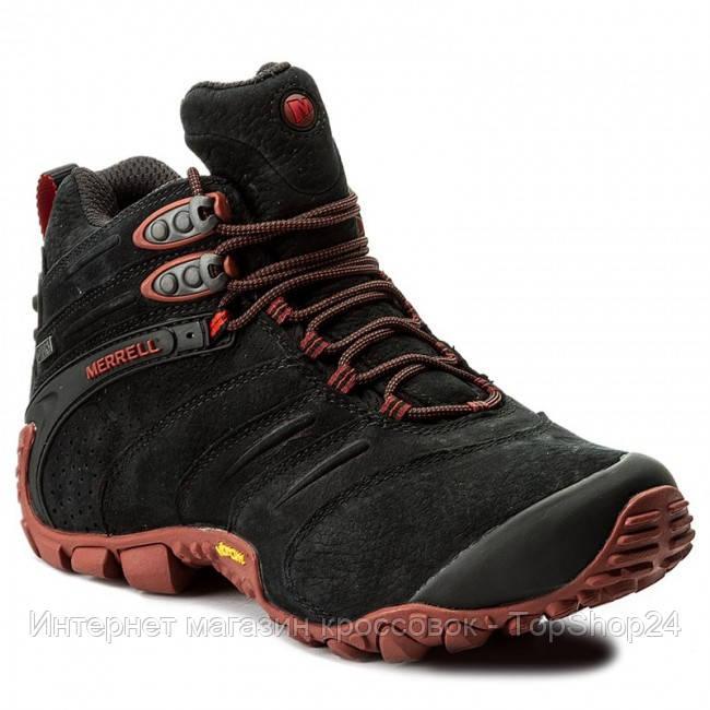 0b65a3656a3e Купить Ботинки спортивные мужские Merrell CHAM II WTRF MID LTR ...
