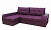 Угловой диван Garnitur.plus Барон фиолетовый 250 см