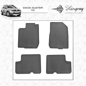 Коврики резиновые Dacia Duster 2010- Stingray 1004014