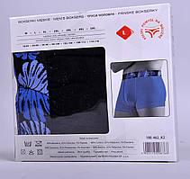 Мужские трусы - боксеры Redo 462 2XL синие, фото 3