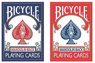 Карты игральные   Bicycle Playing Cards 809 Mandolin Blue by USPCC, фото 2