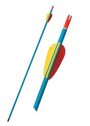 Стрела для лука Man Kung MK-AAL30 (алюминий)