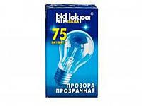 Лампа накаливания 75 Вт Искра в индивидуальной упаковке