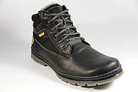 Мужские ботинки из натуральной кожи и меха BF51B