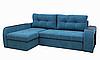 Угловой диван Garnitur.plus Барон бирюзовый 250 см