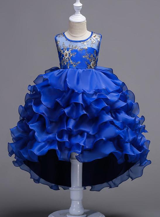 Платье праздничное, бальное детское