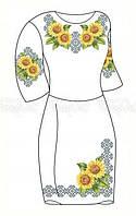 Заготовка для вышивки платья