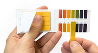 Лакмусовая бумага 80 шт. (тест pH) для определения кислотно-щелочного показателя жидкой среды., фото 1