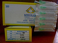 MESORAM Игла для микроинъекций 33G (0,20 х 4) 100 шт.