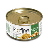 Profine (Профайн) Chicken & Vegetable 70g — консервы для кошек Курица и Овощи.