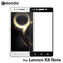 Защитное стекло Mocolo 2.5D 9H на весь экран для Lenovo K8 Note черный