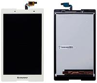 Дисплей (экран) для Lenovo A8-50LC Tab 2 + с сенсором (тачскрином) белый Оригинал