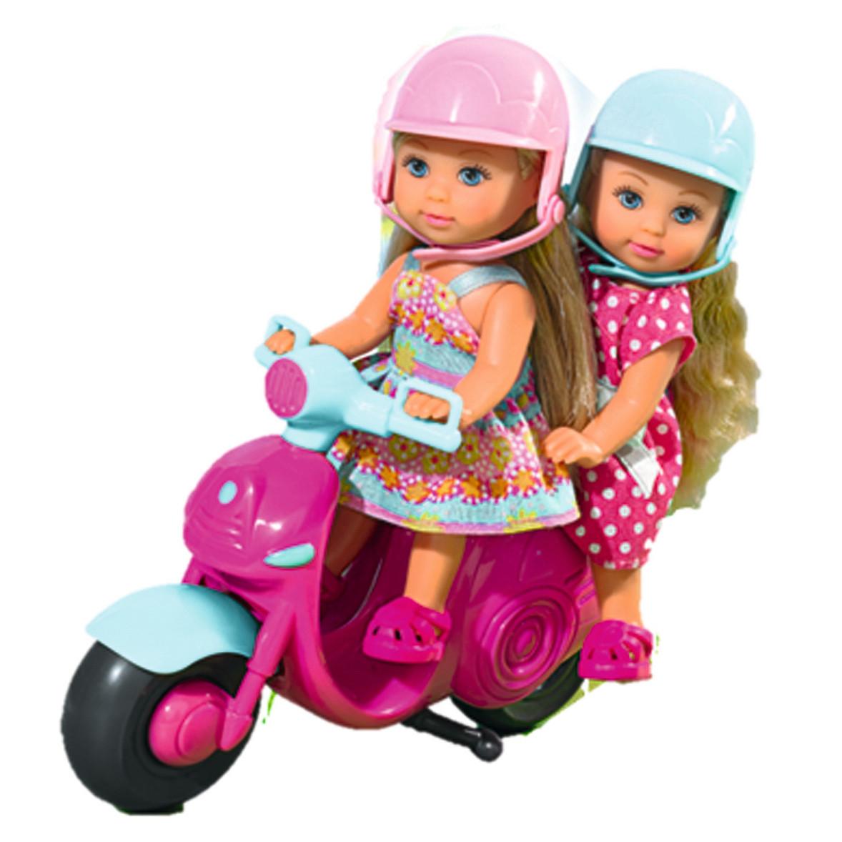"""Ляльки пупси «Simba» (5730485) Еві в подорож на скутері """"Scooter Fun"""""""