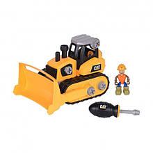 Развивающие и обучающие игрушки «Toy State» (80902) конструктор Бульдозер CAT Machine Maker
