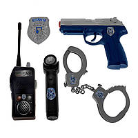 """Игровой набор «Simba» (8108525) набор """"Полицейський"""" в кейсе, 5 предметов"""