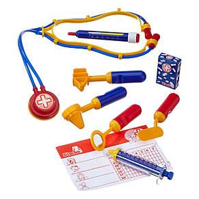 Ігровий набір «Simba» (5549757) набір доктора в валізі 20x13, 9 предметів, фото 2