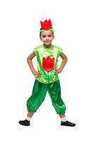 Карнавальный костюм Тюльпана для мальчика 3-8 лет (Украина) купить оптом в Одессе на 7 км