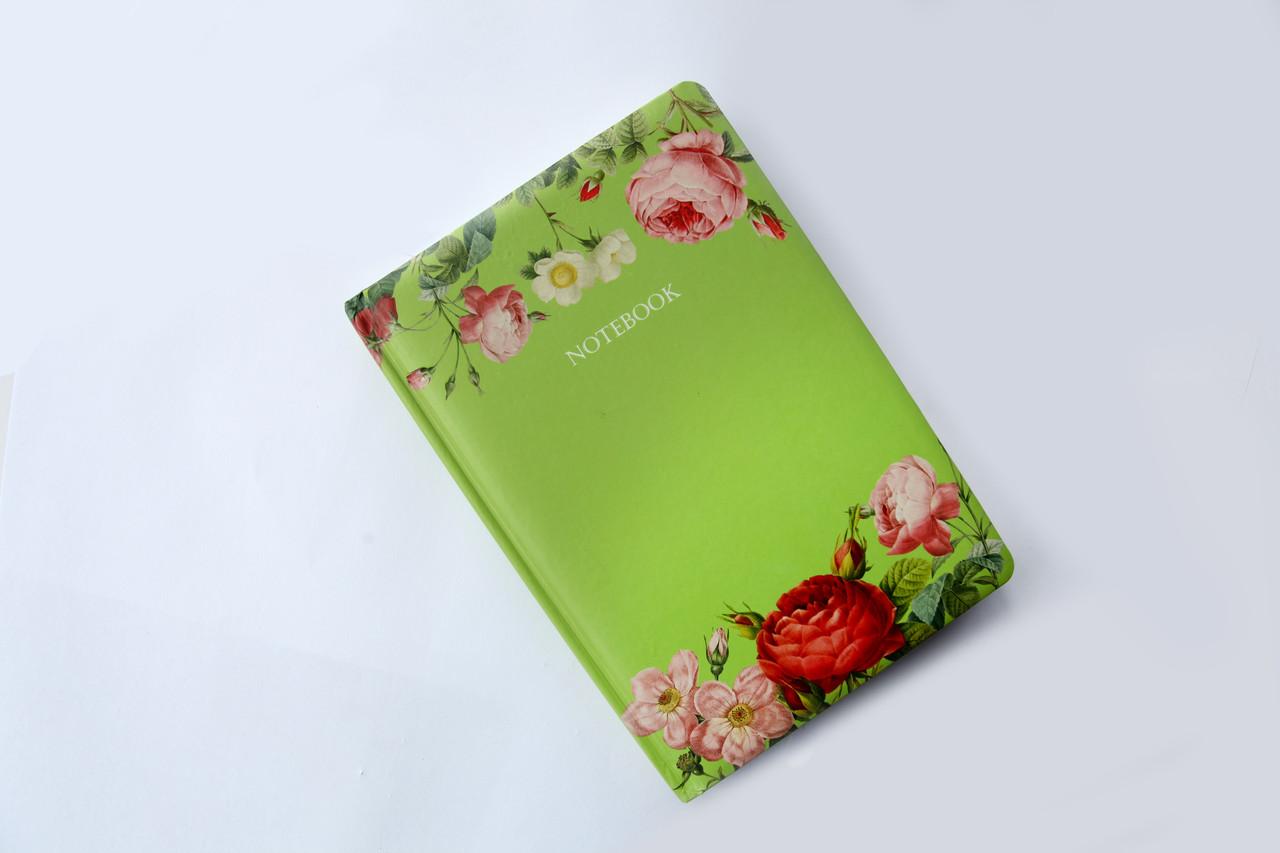 Блокнот Tenderness-green 0018