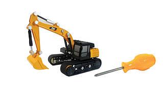 Развивающие и обучающие игрушки «Toy State» (80932) конструктор Экскаватор CAT Machine Maker