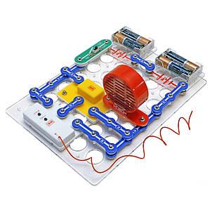 Конструктор «Знаток» (REW-K062) электронный, первые шаги в электронике, 34 схемы, набор С, фото 2