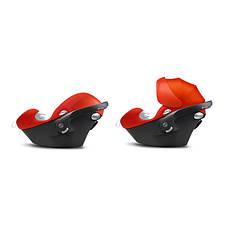 Автокресло Cybex Aton Q Plus 0-13 кг (515104151) Hot & Spicy (красный), фото 3