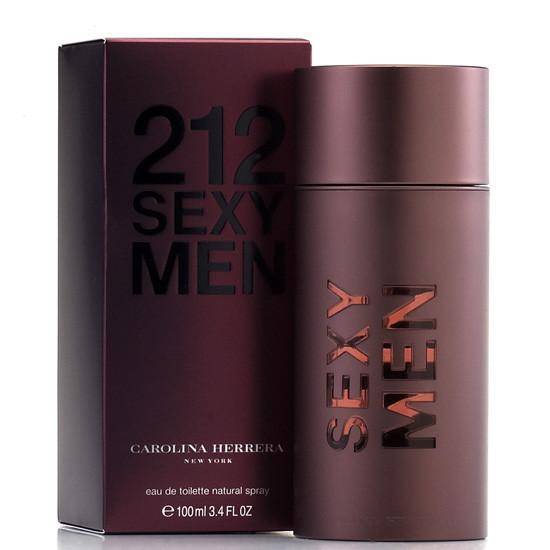 Туалетная вода мужская Carolina Herrera 212 Sexy Men, 100 мл