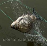 Рыболовная сеть Китайка, Трехстенка  , ячейки 10 -100 мм, отличное качество, для промышленного лова