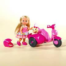 "Куклы и пупсы «Simba» (5736584) Эви на прогулке на скутере с пёсиком ""Scooter Tour"", 12 см, фото 2"
