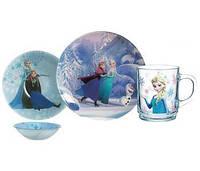 Набор 3 предмета Luminarc Disney Frozen