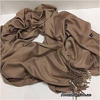 Палантин, шарф беж, натуральная пашмина