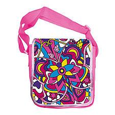 """Творчество и рукоделие «Color Me Mine» (6372205) сумочка """"Алмазный блеск"""" через плечо, 5 маркеров, 34х27 см, фото 3"""
